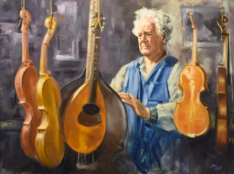 2004 Jim van Geet 'The Violin Maker'