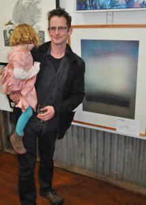 Ben Jenkins with his winning work 'Whitfield Series IV'