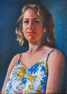 "Highly Commended: Pamela Moore. ""Portrait of Chelsea"""