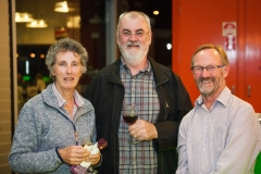 Julie Carolane, Mick McInerney and Rob Carolane