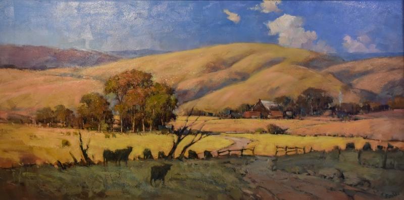 2010 Terry Lewitzka 'Hills of Yankalilla'